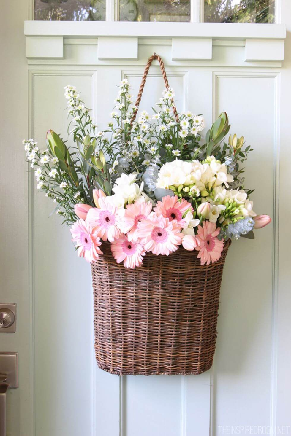 33 Best Summer Wreath Ideas and Designs for 2020 on Decorative Wall Sconces For Flowers Hanging Baskets Delivery id=32544