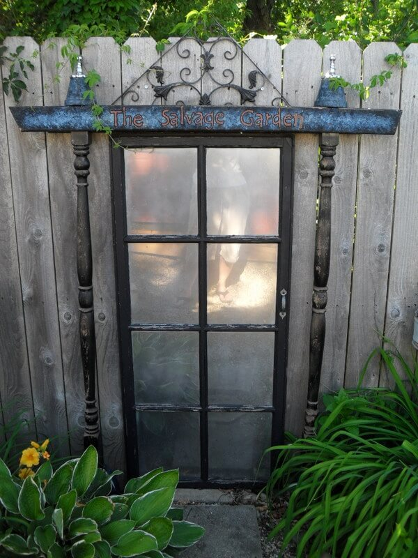 27 Best Old Door Outdoor Decor Ideas and Designs for 2020 on Backyard Wall Decor Ideas  id=32429