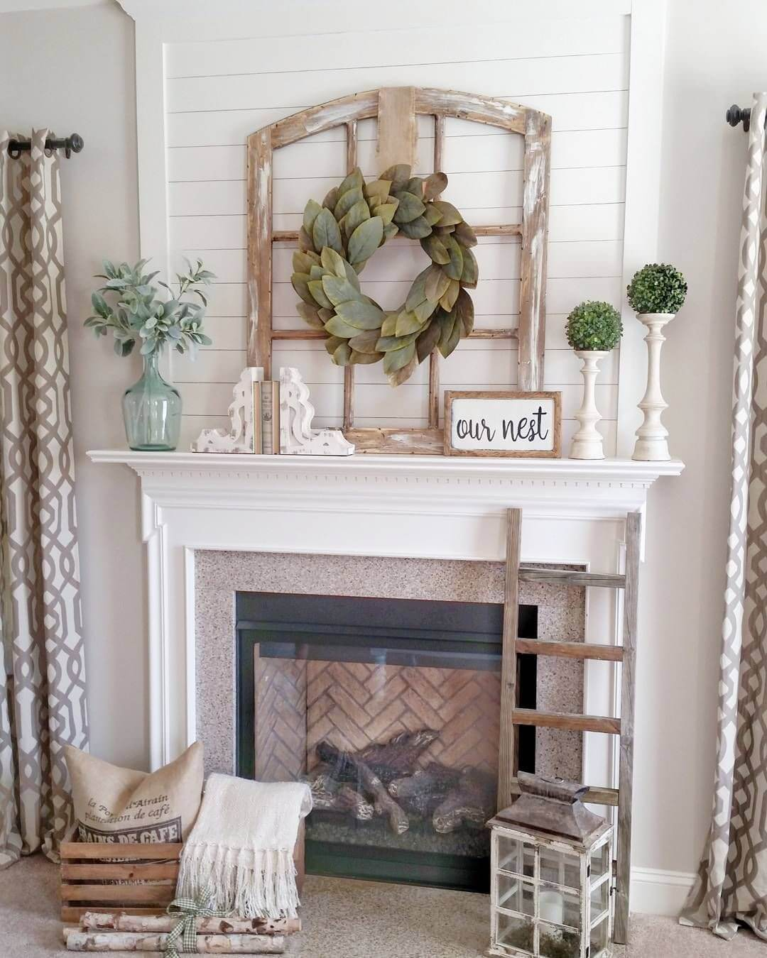33 Best Rustic Living Room Wall Decor Ideas and Designs ... on Decorative Wall Sconces For Living Room Ideas id=40758
