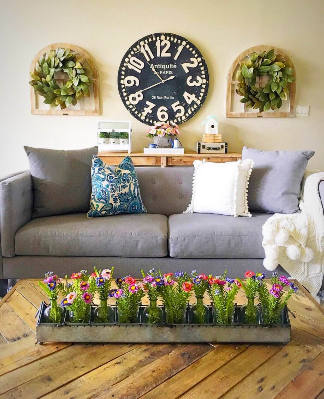 33 Best Rustic Living Room Wall Decor Ideas and Designs ... on Wall Decor Ideas  id=94141