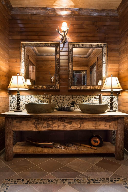 35 best rustic bathroom vanity ideas and designs for 2020 on rustic bathroom designs photos id=36694