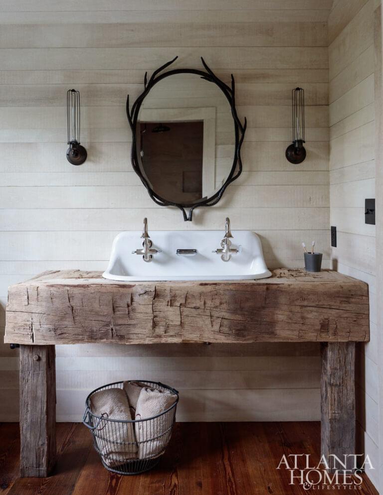 35 best rustic bathroom vanity ideas