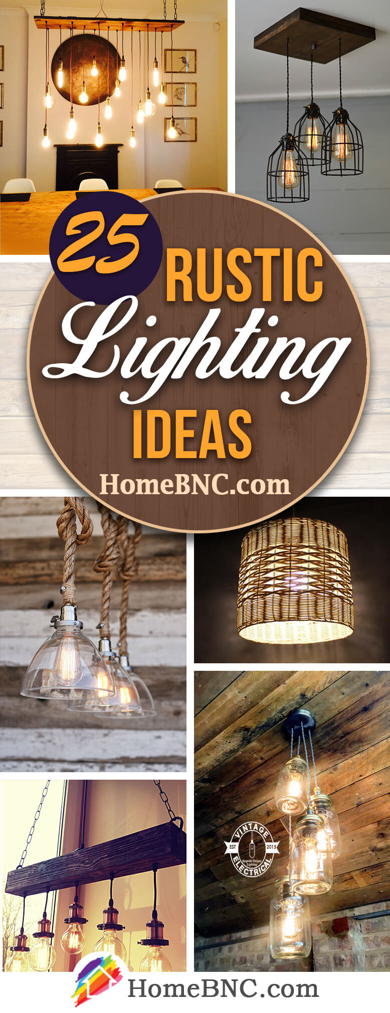 25 best rustic lighting ideas from etsy