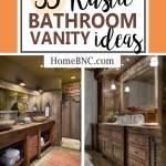35 Best Rustic Bathroom Vanity Ideas And Designs For 2021