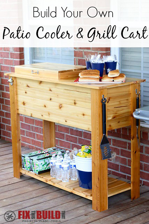 7 Best DIY Grill Station Ideas and Projects for 2020 on Patio Grill Station id=76324