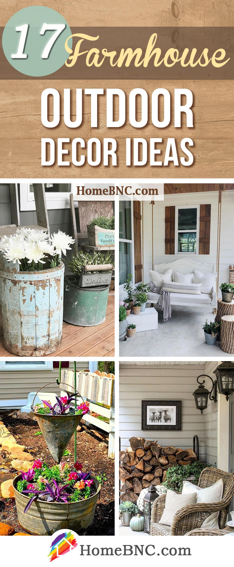 17 Best Farmhouse Outdoor Decor Ideas and Designs for 2020 on Backyard Patio Decorating Ideas id=92094