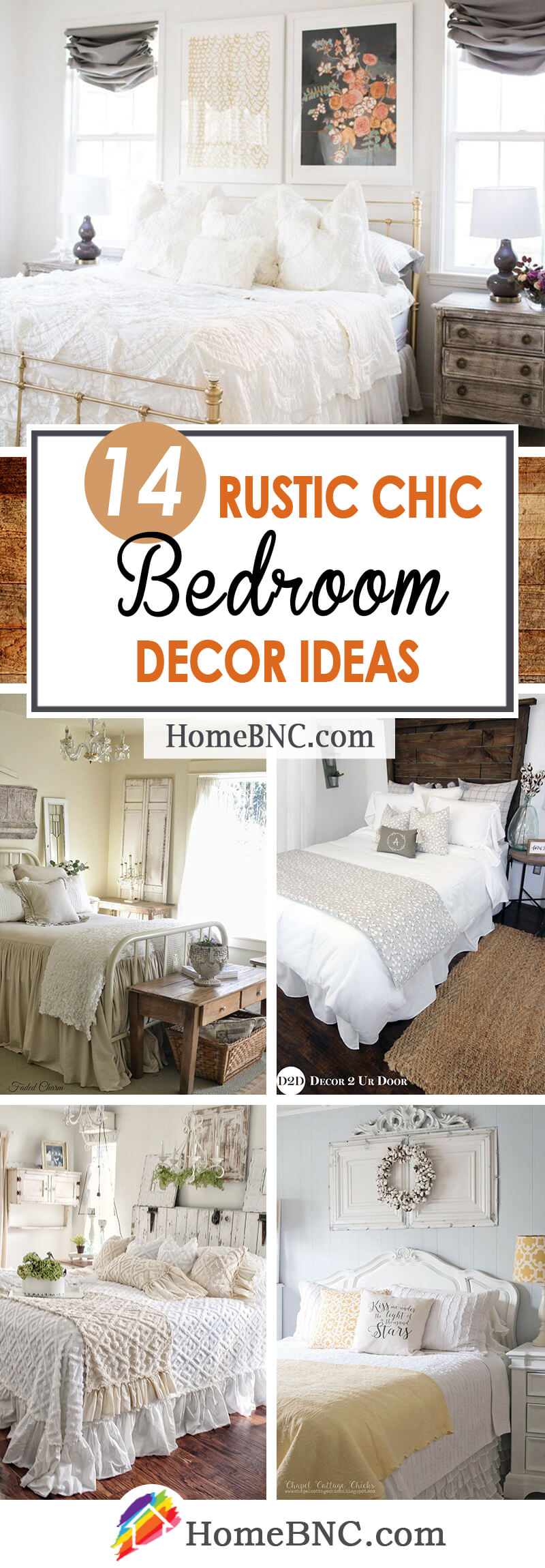 14 best rustic chic bedroom decor and