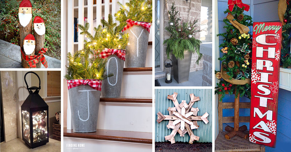 50 Best Christmas Porch Decoration Ideas For 2020