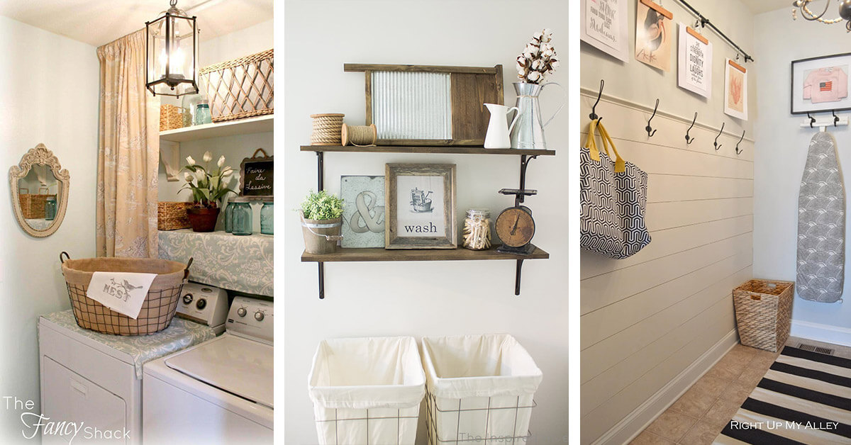 20 Best Laundry Room Organization Ideas For 2019