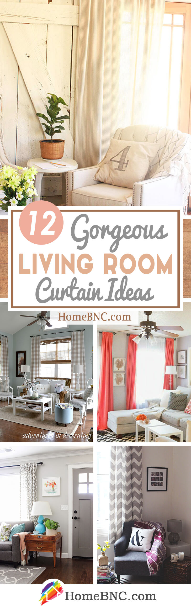 12 best living room curtain ideas and