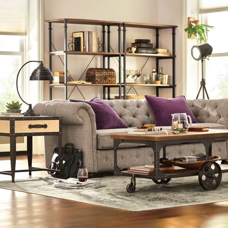 21 Best Rustic Living Room Furniture Ideas and Designs for ... on Fun Living Room Ideas  id=59853