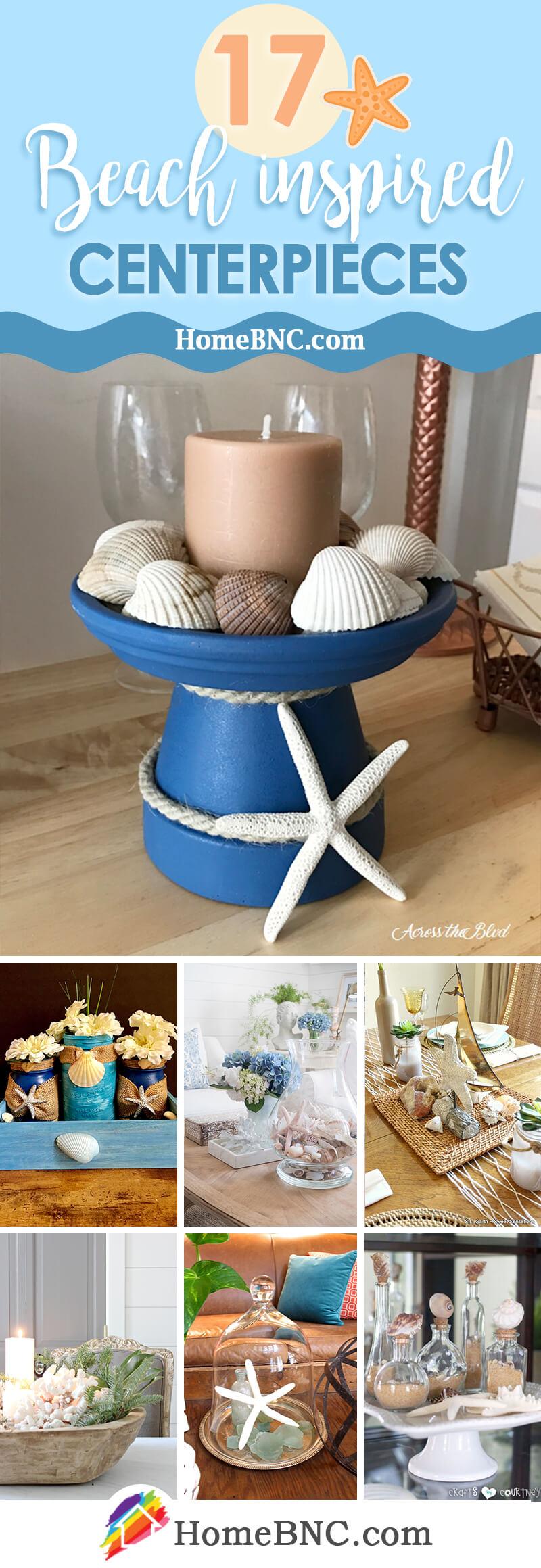 17 best beach themed centerpiece ideas
