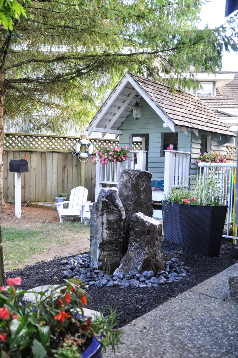 21 Best River Rock and Stone Garden Decorating Ideas for 2020 on Rock Decorating Ideas  id=51750