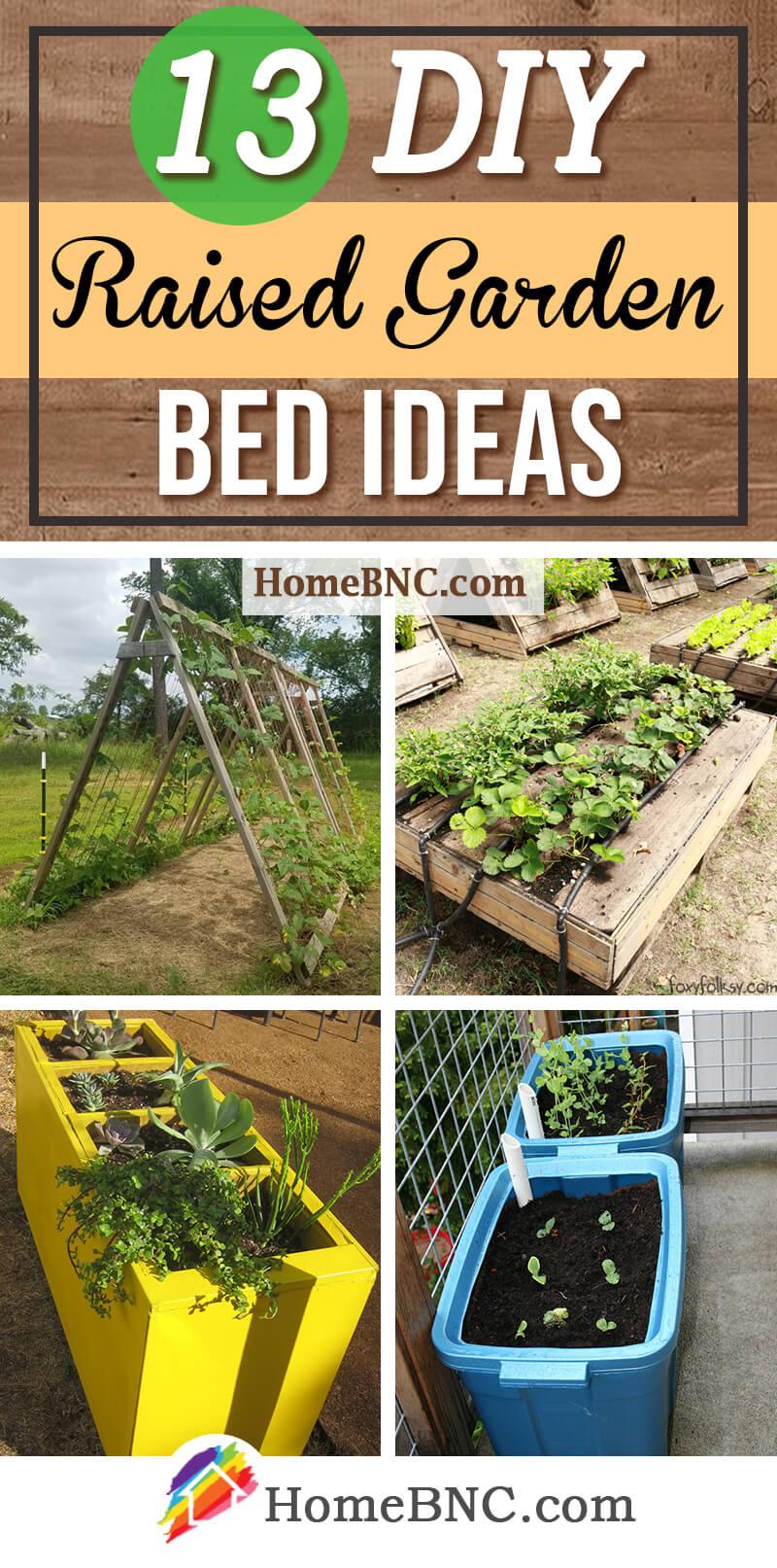13 Best DIY Raised Garden Bed Ideas and Designs for 2020 on Backyard Raised Garden Bed Ideas id=96991