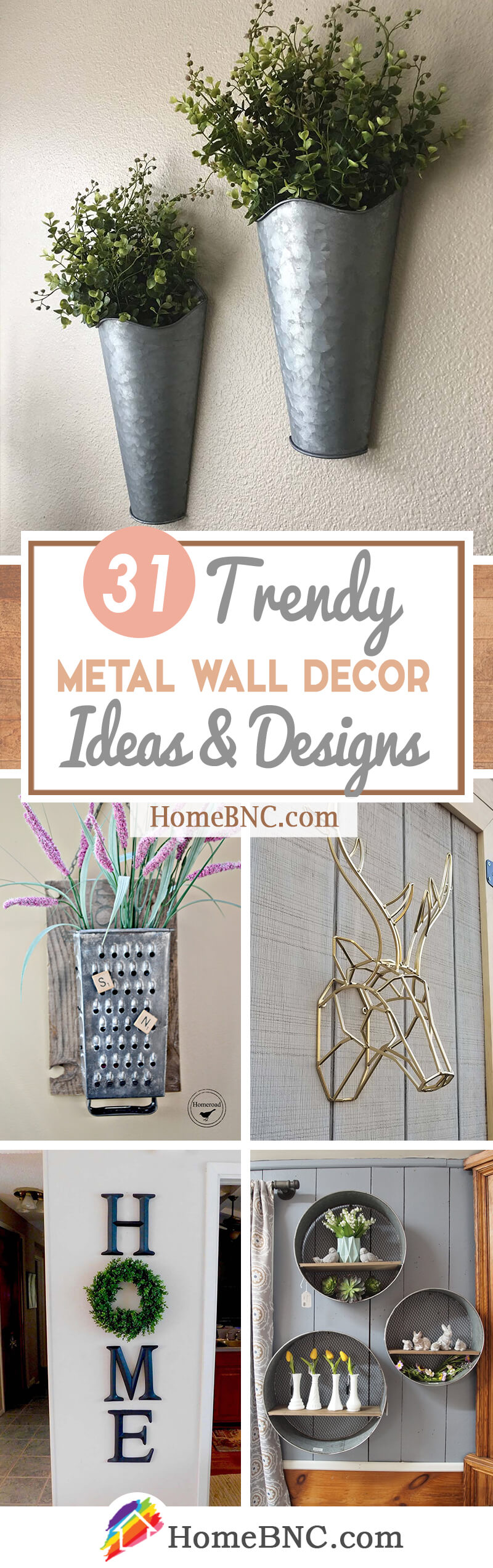 31 Best Metal Wall Decor Ideas And Designs For 2019