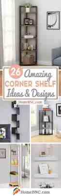 26 Best Corner Shelf Ideas And Designs For 2020