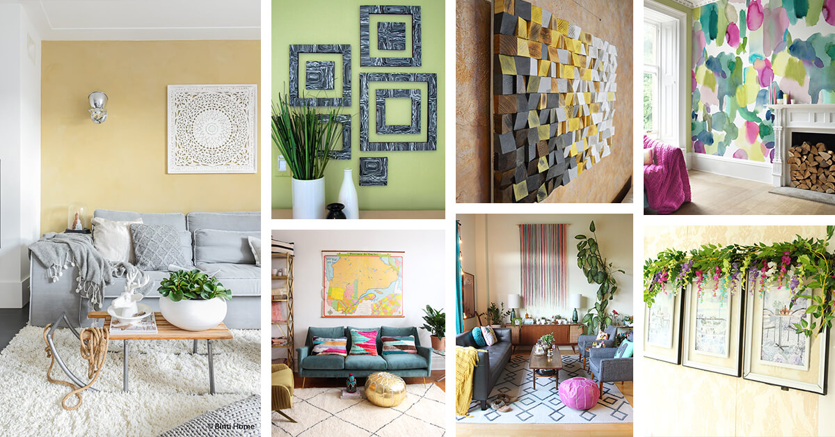 23 Best Living Room Wall Art Ideas and Designs for 2020 on Room Wall Decor id=29954