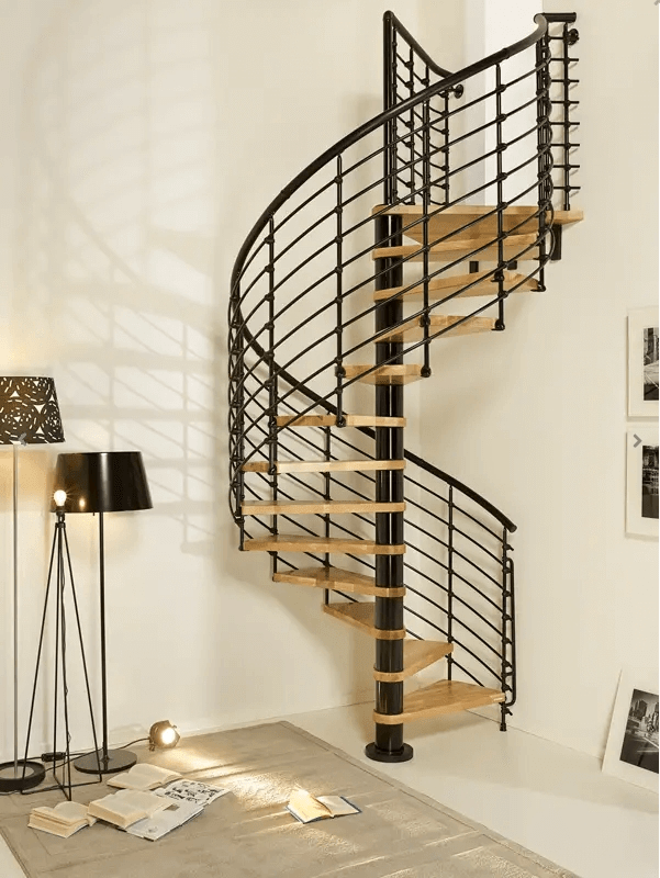 16 Best Spiral Staircase Ideas And Designs For 2020 | Steel Spiral Staircase Design | Concrete | Outdoor | Wood | Structural | Cast Iron