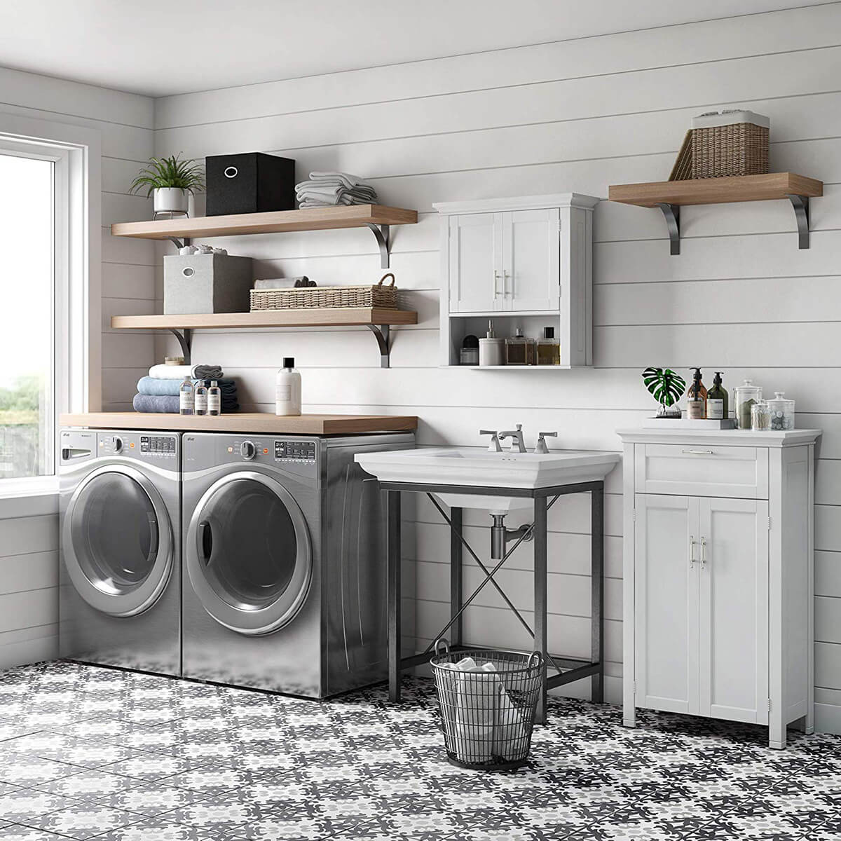 30 of the Most Stylish and Best Laundry Room Cabinets to ... on Laundry Room Cabinets  id=36193