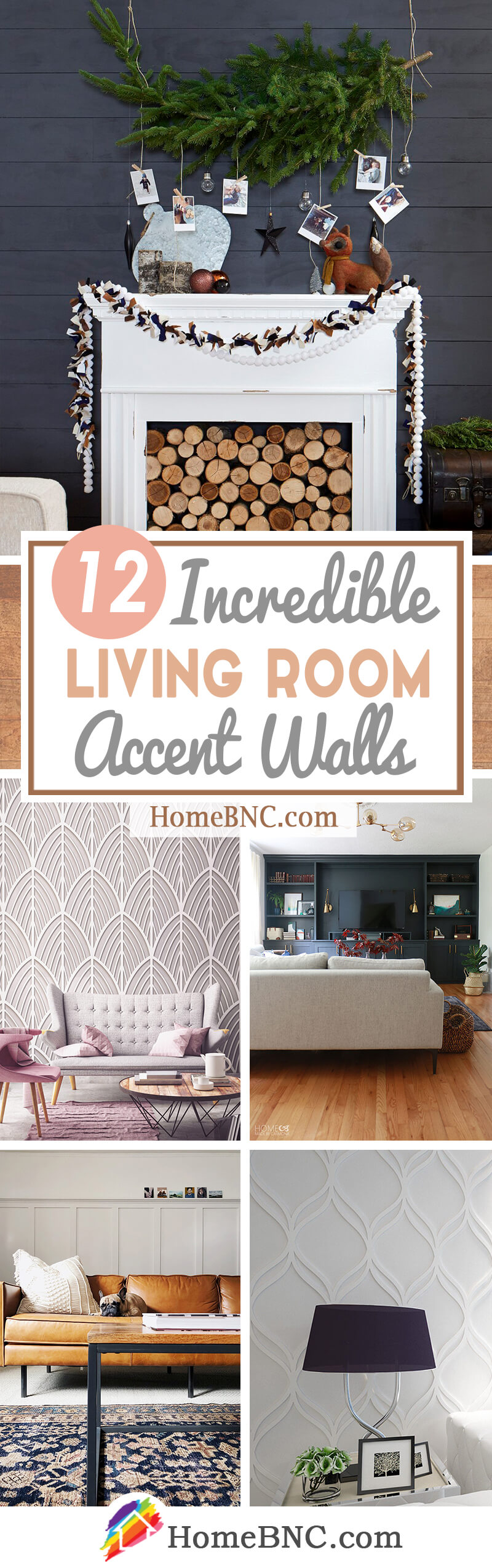 12 Best Living Room Accent Wall Design Ideas For 2020
