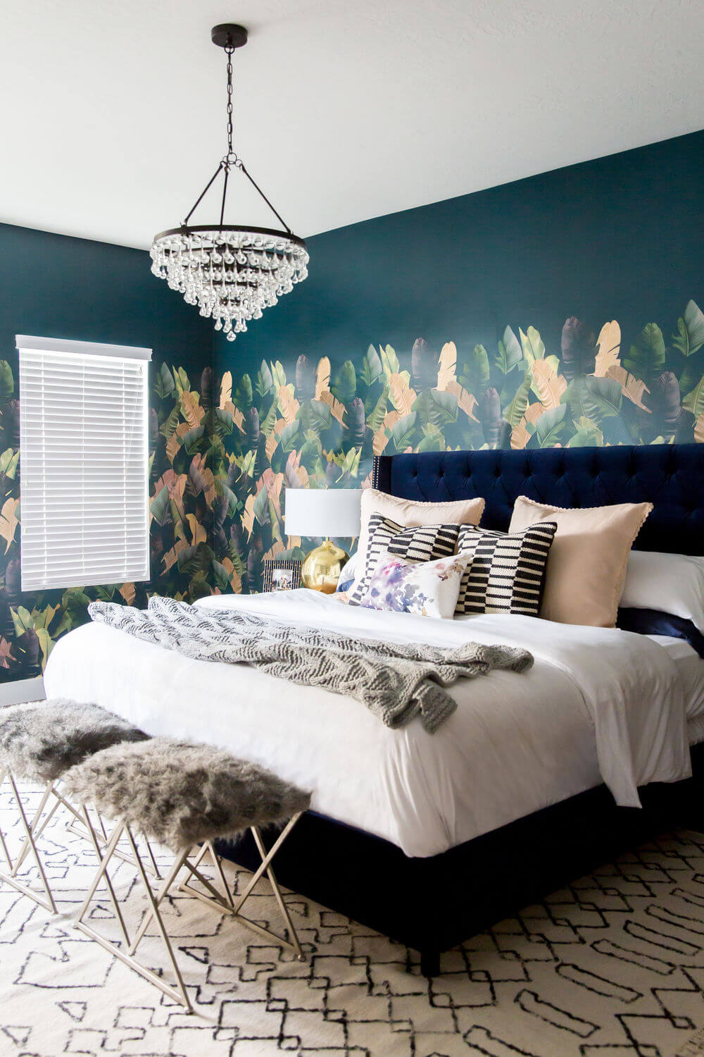 22 Best Bedroom Accent Wall Design Ideas To Update Your Space In 2020