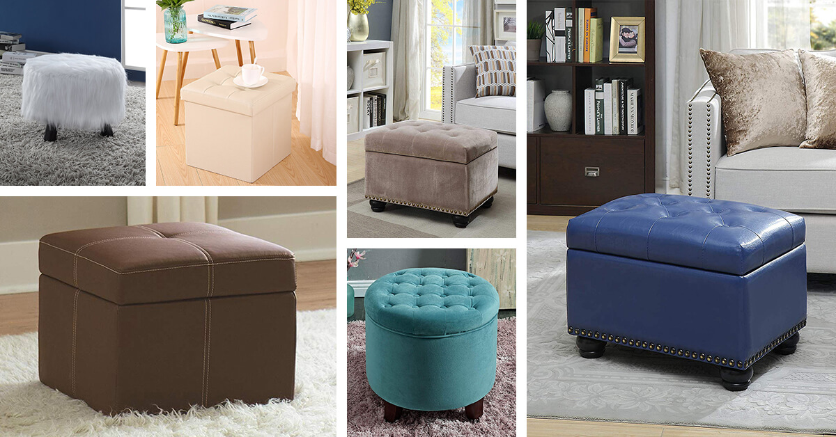 hassocks and ottomans to make your room