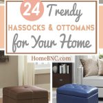 24 Best Hassocks And Ottomans To Make Your Room Relaxing In 2019