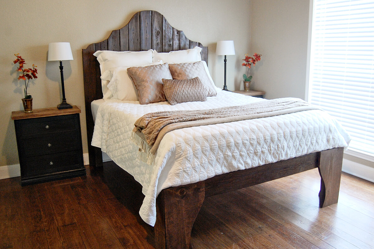 20 Best DIY Pallet Bed Frame Ideas to Update Your Bedroom ... on Bedroom Pallet Ideas  id=41183