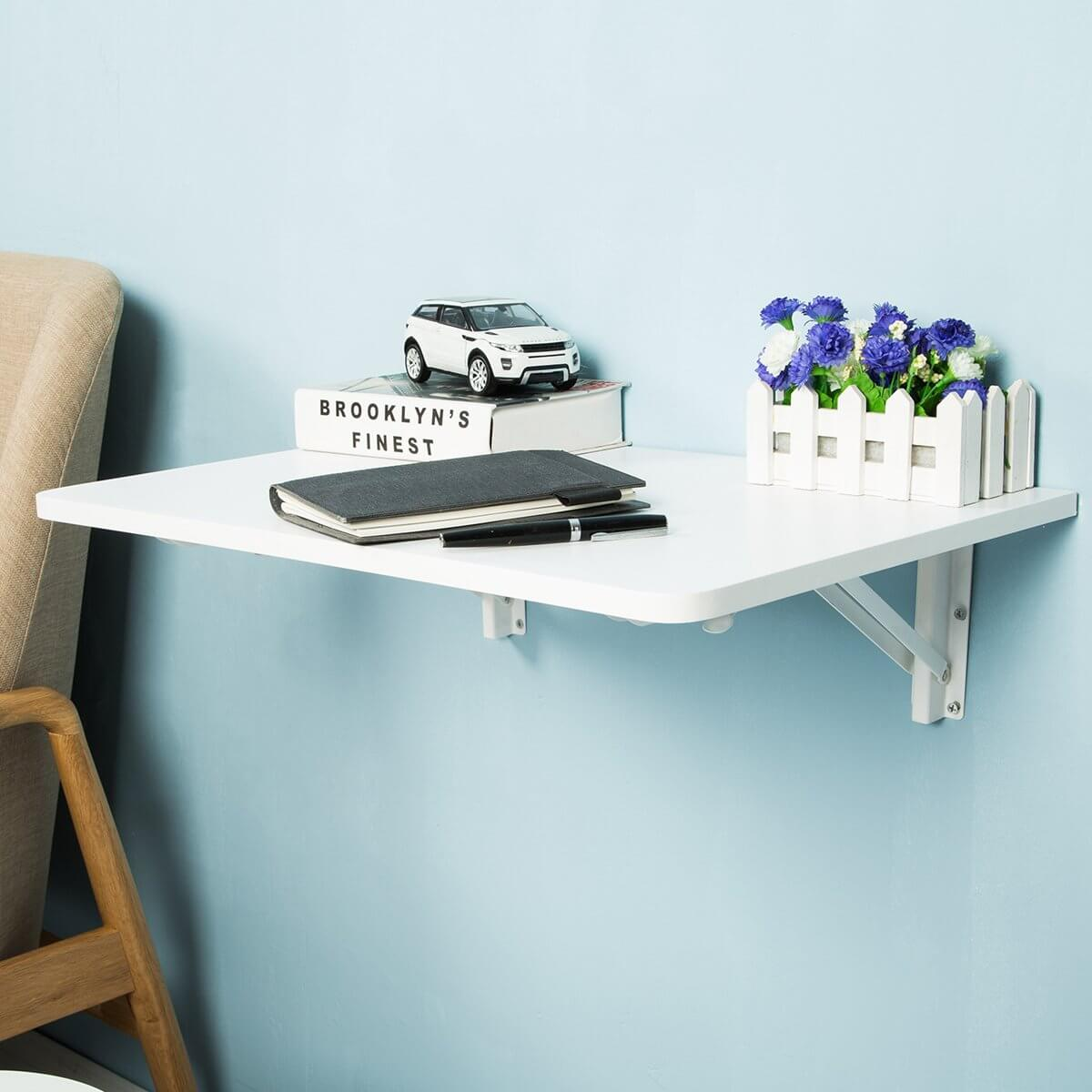 Small Student Folding Wall Table Desk