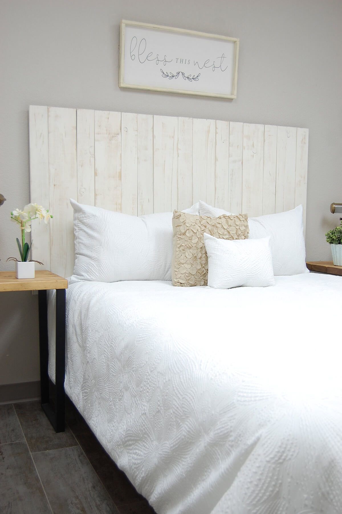 20 Best DIY Pallet Bed Frame Ideas to Update Your Bedroom ... on Bedroom Pallet Ideas  id=62757