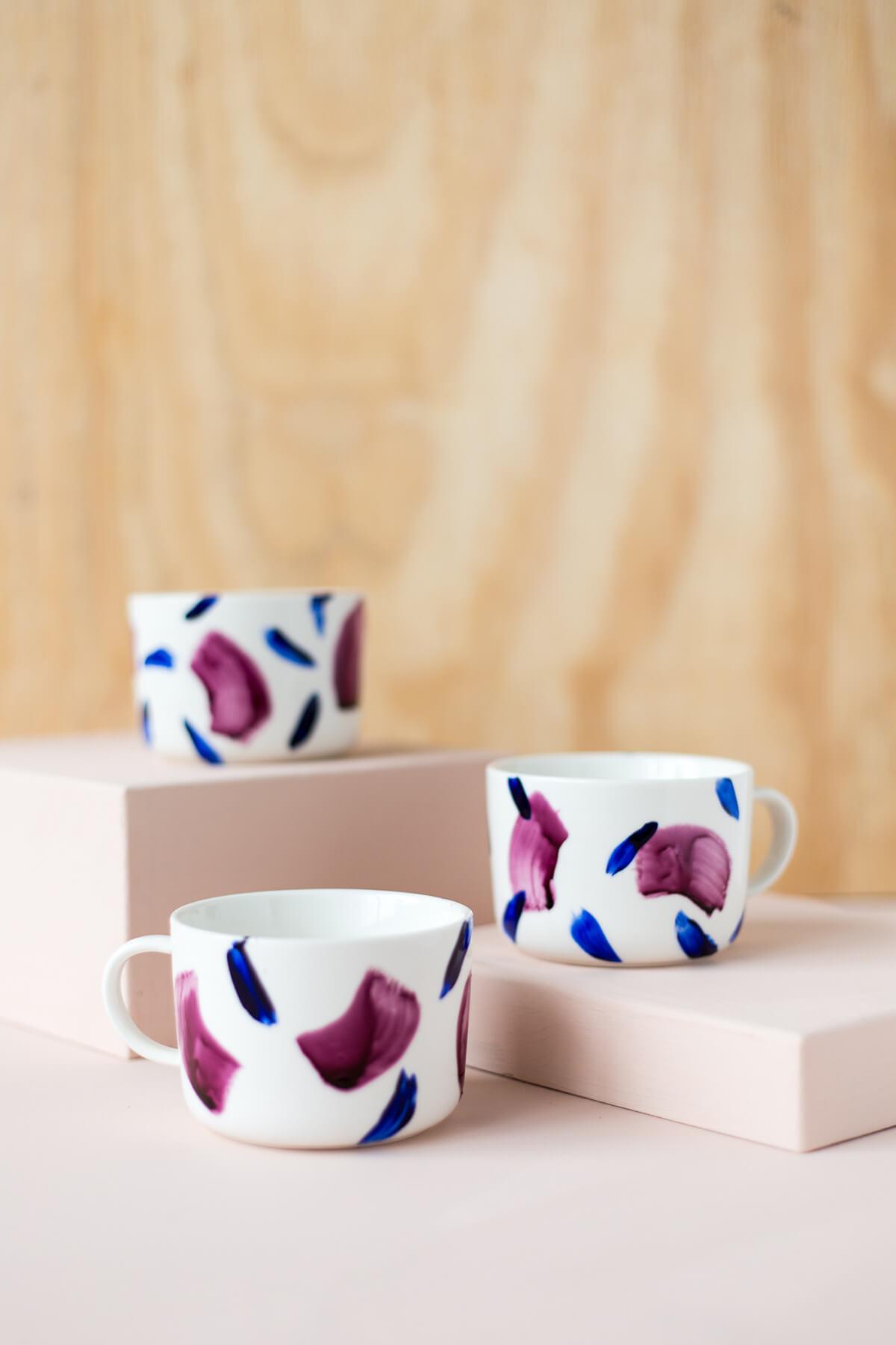 Stylish and Modern Patterned Mugs