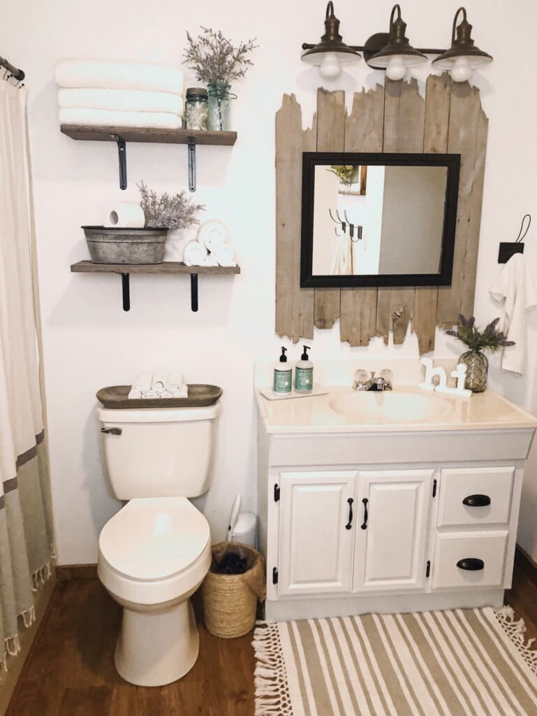 50+ Best Rustic Bathroom Design and Decor Ideas for 2021
