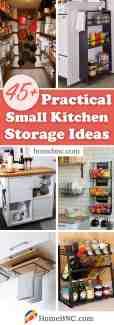 45 Best Small Kitchen Storage Organization Ideas And Designs For 2020