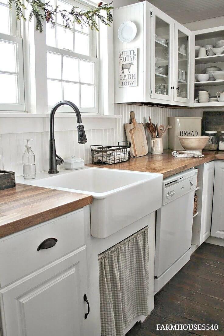 best farmhouse kitchen backsplash ideas