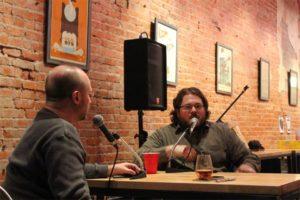 Tripp & Greg talking in 2013