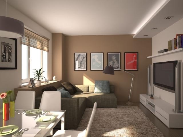 Дизайн маленькой гостиной — дизайнерские приемы по увеличению пространства. Маленькая гостиная
