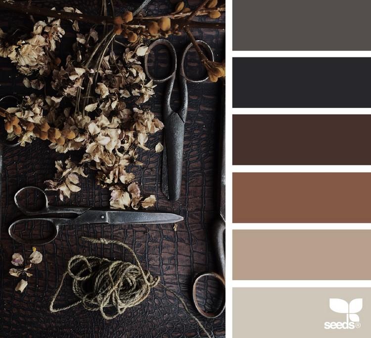 फूलों के सुंदर संयोजनों पर भूरे रंग के टिप्स के लिए कौन सा रंग पूरी तरह से उपयुक्त है