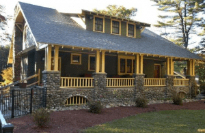 craftsman style home, bungalow style home, craftsman features