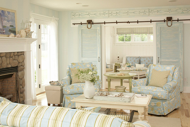 Coastal Cottage With Paint Color Ideas
