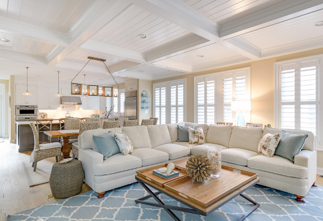 Beach Cottage With Neutral Coastal Interiors
