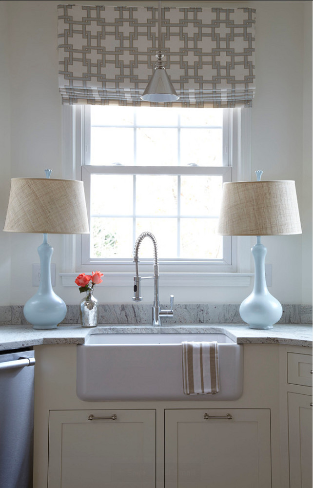 Small White Kitchen Design - Home Bunch Interior Design Ideas on Farmhouse Kitchen Sink Ideas  id=76491