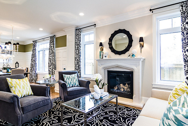 Family Home With Stylish Transitional Interiors