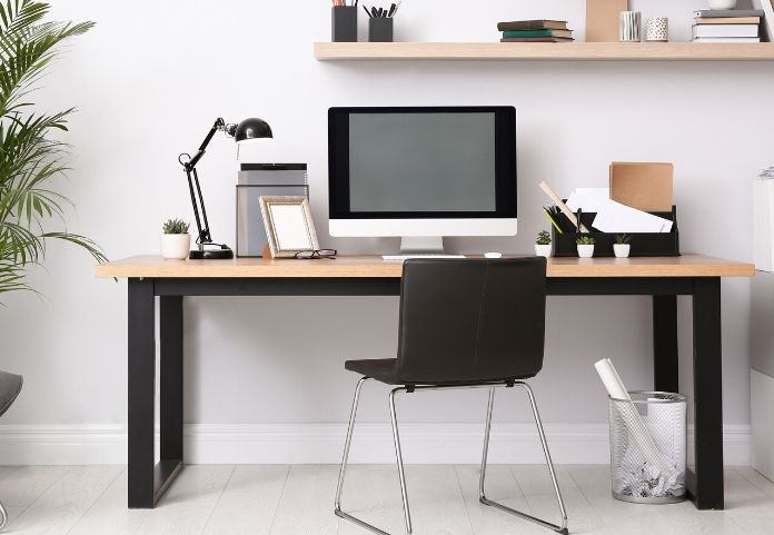 home office lighting tips for a