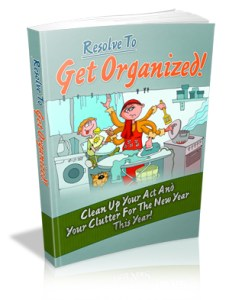 Resolve to Get Organized Cover