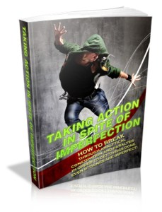 Take Action In Spite of Imperfection Cover