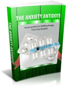 The Anxiety Antidote Cover