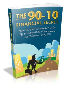 90-10 Financial Secret Cover