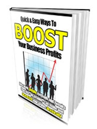Boost Business Profits Quick and Easy Cover