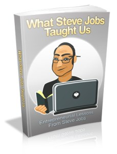 Lessons From Steve Jobs Cover