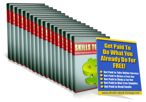 Get Paid for Your Skills Cover